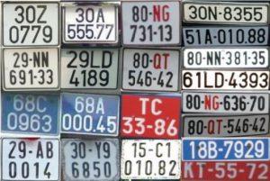 Xác minh biển số xe ô tô, xác minh biển số xe máy, tìm chủ nhân biển số xe qua nhiều đời chủ